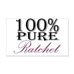 100% Pure Ratchet 20x12 Wall Decal