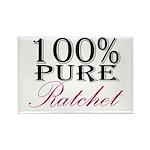 100% Pure Ratchet Rectangle Magnet