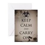 Biohazard Greeting Cards (Pk of 10)