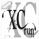 Cross country Wall Decals