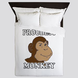 Proudest Monkey Queen Duvet