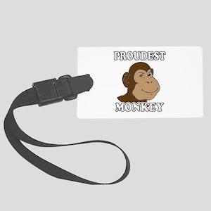 Proudest Monkey Large Luggage Tag