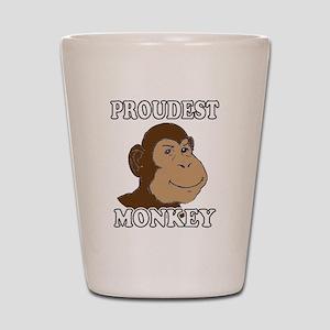 Proudest Monkey Shot Glass