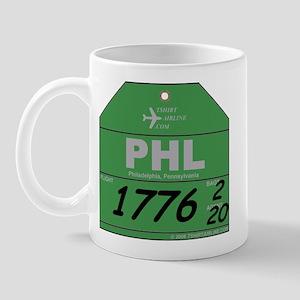 PHL - Philadelphia, PA Mug