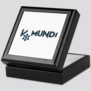 V Mundi official logo Keepsake Box
