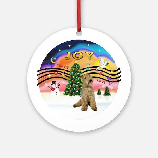 XMusic2 - Lakeland Terrier Ornament (Round)