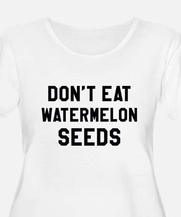 Watermelon Seeds Plus Size T-Shirt