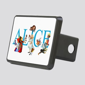 ALICE & FRIENDS IN WONDERL Rectangular Hitch Cover