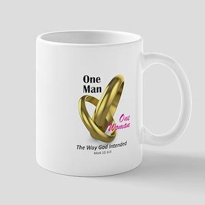 One Man One Woman Mug