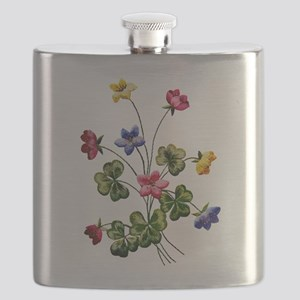 WOODSORREL_Embroidery Flask