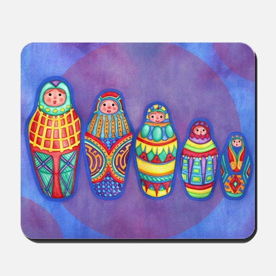 Matryoshka Dolls Mousepad