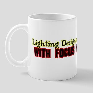 Theatre Lighting Designer Mug