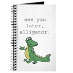 See you later, Alligator! Journal