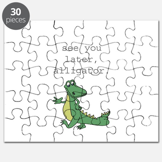 See you later, Alligator! Puzzle