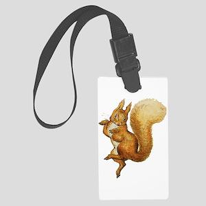 Squirrel Nutkin Large Luggage Tag