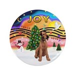 "XMusic2-Lakeland Terrier 3.5"" Button"