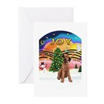 XMusic2-Lakeland Terrier Greeting Cards (Pk of 10)