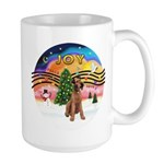 XMusic2-Lakeland Terrier Large Mug