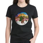 XMusic2-Lakeland Terrier Women's Dark T-Shirt