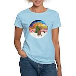XMusic2-Lakeland Terrier Women's Light T-Shirt