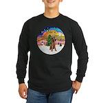 XMusic2-Lakeland Terrier Long Sleeve Dark T-Shirt