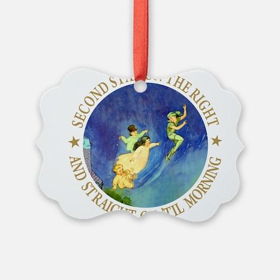 PETER PAN gold copy.png Ornament