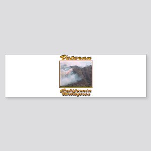 Veteran California Wildfires Bumper Sticker