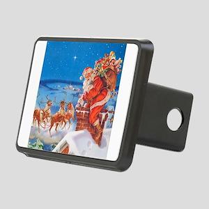 Santa Claus 60_SQ Rectangular Hitch Cover