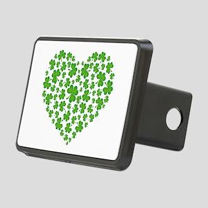 MY IRISH SHAMROCK HEART Rectangular Hitch Cover