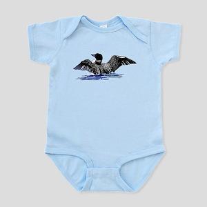 loon on lake Infant Bodysuit