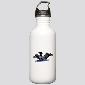 loon on lake Stainless Water Bottle 1.0L