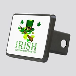 IRISH DOWN TO MY TOES Rectangular Hitch Cover