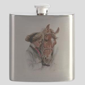 fair americans horse Flask