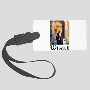 Wizard_1010300 Large Luggage Tag