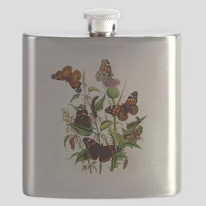 BUTTERFLIES& thistle 1010300 Flask