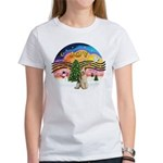 XMusic2-Wire Fox T3 Women's T-Shirt