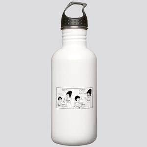 Use Your Hands Stainless Water Bottle 1.0L