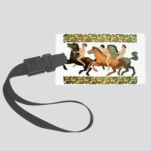 bareback riders2 Large Luggage Tag