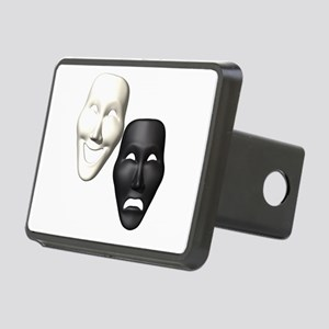 MASKS OF COMEDY & TRAGEDY Rectangular Hitch Cover