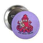 "Squiddipus and Squeezy 2.25"" Button"