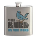 The Bird is the Word Flask