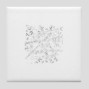 EquationSplatter Tile Coaster