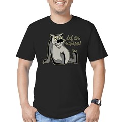 Schas spoyu Men's Fitted T-Shirt (dark)