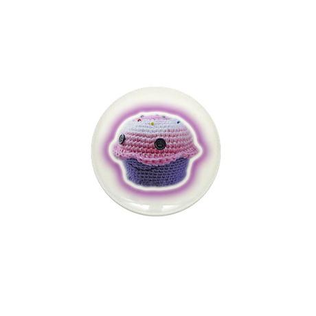 Yarn Cupcake Mini Button (100 pack)