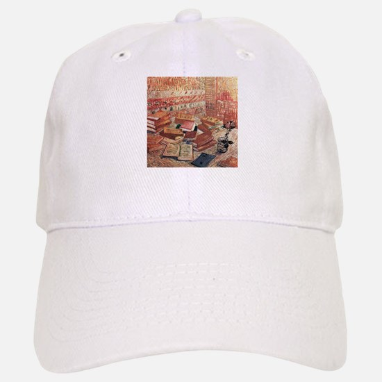 Van Gogh French Novels and Rose Baseball Baseball Cap