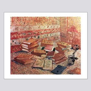Van Gogh French Novels and Rose Small Poster