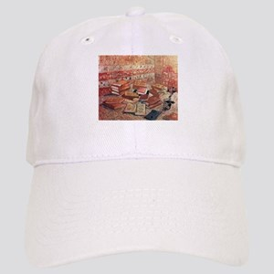 Van Gogh French Novels and Rose Cap
