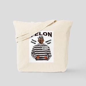 OBAMA CONVICT Tote Bag