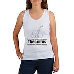 Thesaurus Women's Tank Top