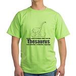 Thesaurus Green T-Shirt